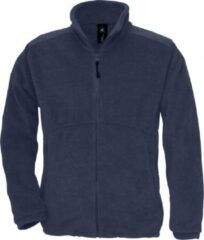 Marineblauwe B and C B&C Heren Icewalker+ Full Zip Fleece Top (Marine)