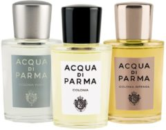 Acqua di Parma Unisexdüfte Colonia Colonia Set Eau de Cologne Spray Colonia 20 ml + Eau de Cologne Spray Colonia Pura 20 ml + Eau de Cologne Spray Col