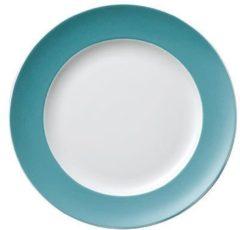 "Thomas ""Frühstücksteller 22 cm """"Sunny Day Turquoise"""" turquois"""