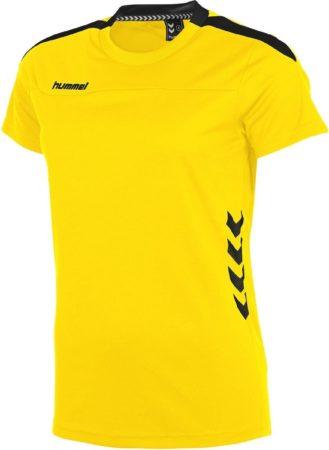 Afbeelding van Hummel Valencia T-shirt Ladies Sportshirt - Geel - Maat M
