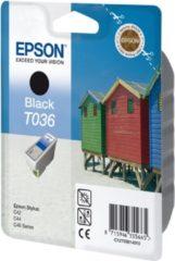 Zwarte Epson T036 - Inktcartridge / Zwart