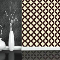 Walplus Muur Decoratie Sticker - Cirkel Ster Patroon 4 X Stickervel
