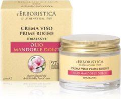 L'erboristica Gezichtscreme voor de eerste rimpels van zoete Amandel olie - VEGAN (50 ml)
