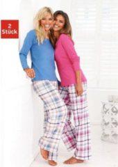 Naturelkleurige ARIZONA pyjama in set van 2