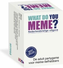 Megableu What do you Meme? Nederlandstalige uitgave - Party / Kaartspel ideeal voor Feestjes!