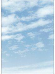 Designpapier Sigel A4 90grs pak a 100 vel Clouds