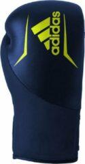 Adidas Speed 200 (Kick)Bokshandschoenen - Blauw/Geel - 16 oz