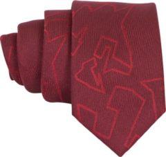 Premium Ties - Luxe Stropdas Heren Rood - Polyester - Inclusief Luxe Gift Box!