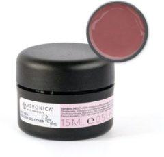 Roze Veronica Nail Products Veronica NAIL-PRODUCTS UV / LED BUILDER gel Cover Rose Glace, 15 ml. Make-up gel tegen verkleuringen, oneffenheden en beschadigingen van nagelbed, voor de mooiste gelnagels.