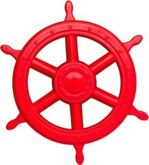 Rode Swing King Piraten stuurwiel 40 cm groot rood 2552019