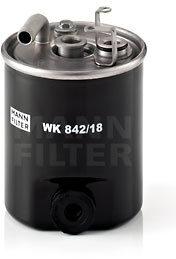 Afbeelding van Mann-filter Brandstoffilter WK 842/18