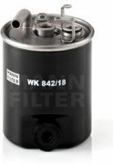 Mann-filter Brandstoffilter WK 842/18