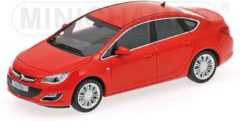 Opel Astra 2012 Rood 1:43 Minichamps