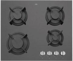 Etna KGG860ZTA gas-op-glas gaskookplaat 60 cm met vlambeveiliging