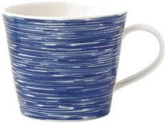 Blauwe Royal Doulton Pacific Texture mok van porselein 45 cl