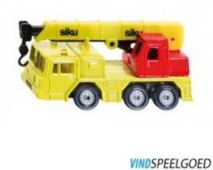 Rode Siku hydraulische kraanwagen geel/rood (1326)