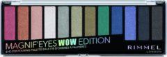 Blauwe Rimmel London Magnif ' Eyes Wow Glitter oogschaduw palette - 006 Lilac