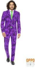 Paarse Batman Mr. Joker™ Opposuits™ kostuum voor mannen - Volwassenen kostuums