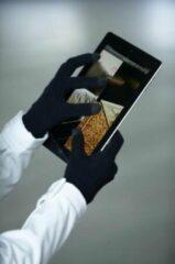 Zwarte Myrtle Beach Touchscreen gebreide handschoenen S/m