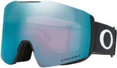 Witte Oakley Fall Line XL Skibril Heren