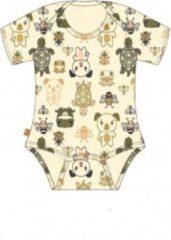 Frogs and Dogs Frogs en Dogs- kraamcadeau - baby - Romper - maat 50