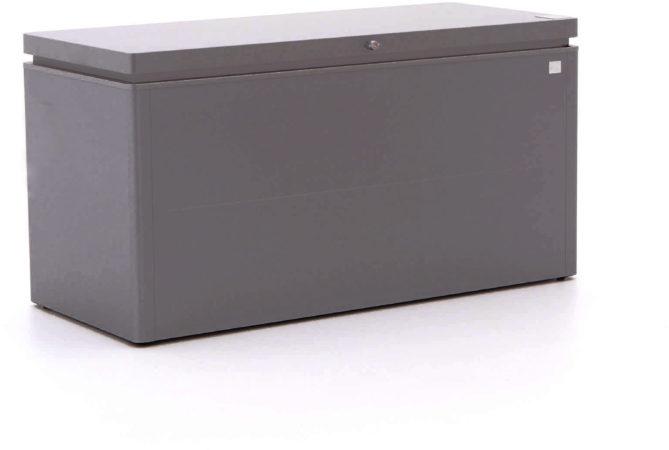 Afbeelding van Biohort tuinkussen opbergbox Lounge 160 donkergrijs 850L 160x70x83,5cm (BxDxH)