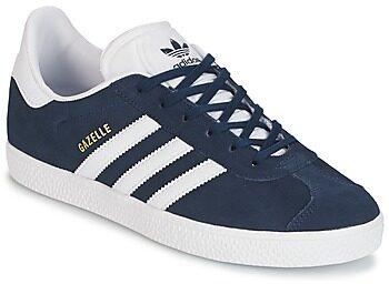Afbeelding van Blauwe Adidas Gazelle Kids Sneakers - Collegiate Navy/Ftwr White/Ftwr White - Maat 35.5