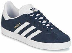 Marineblauwe Adidas Gazelle Kids Sneakers - Collegiate Navy/Ftwr White/Ftwr White - Maat 35.5