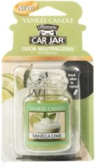 Paarse Yankee Candle Vanilla Lime Car Jar Ultimate