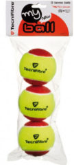 Tecnifibre My New Ball - Stage 3 - Rood - Tennisbal (3stuks)