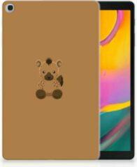 Transparante Tablet Case Samsung Tab A 10.1 (2019) Baby Hyena