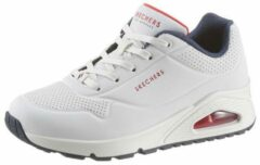 Witte SKECHERS sneakers met sleehak »Uno - Stand on Air«