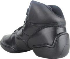 Zwarte Papillon Dance sneaker Leer Split zool Hoog model Dames - Zwart - 115
