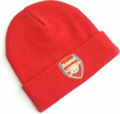 Arsenal FC Arsenal Muts Omslag - Volwassenen - Rood