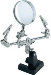 Ben Tools Verstelbare loep/loupe/vergrootglas met derde handje - vergrootloep