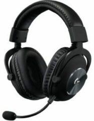 Zwarte Logitech G PRO professionele Gaming Headset (2e gen.)met 50 mm Pro-G drivers en professionele EQ-profielen