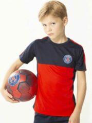 Blauwe Paris Saint Germain PSG t-shirt kids - 100% polyester - official PSG product - Paris kinder shirt - maat 104