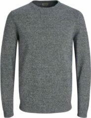 Grijze JACK & JONES ESSENTIALS gemêleerde trui grjis