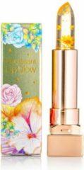 GLAMFOX Honey Flower Lipstick met 100% echte Honing Bloem en 24 Karaat Goud Poeder Lippenstift - Korean Makeup - Lip Plumping - Lip Plumper Botox - Make Up - Lippenstift Langhoudend
