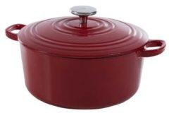 Rode BK Bourgogne braadpan - ø 28 cm - chili red