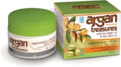 Pharmaid Argan Treasures Regenerative & AHA & 100% organic argan oil gezichtscrème 50ml