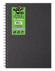 Artgecko Shady Spiraal Schetsboek A4 Portret 220gr 35 vel Grijs