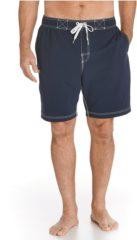 Blauwe Coolibar UV beschermende zwemshorts - Donkerblauw - Heren - Maat S