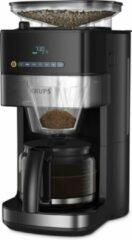 Zilveren Krups Grind & Brew KM8328 - Koffiezetapparaat met koffiemolen