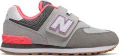Beige New Balance 997 Sneakers - Maat 35 - Unisex - licht grijs/ grijs/ roze/ paars