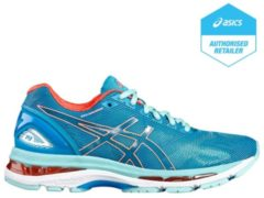Gel-Nimbus 19 Laufschuh Damen Asics diva blue / flash coral / aqua splash