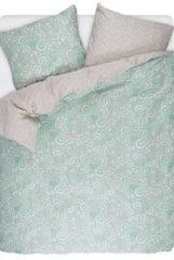Turquoise Esprit Wendebettwäsche aus Baumwollsatin
