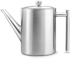 Zilveren Bredemeijer Minuet Cylindre Theepot 1,2 L - Mat