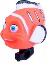 Oranje M-Wave - Fietstoeter - Vis