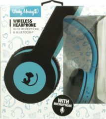 Wonky Monkey - Headset - Draadloos - Bluetooth - Koptelefoon - On ear - Over ear - Blauw